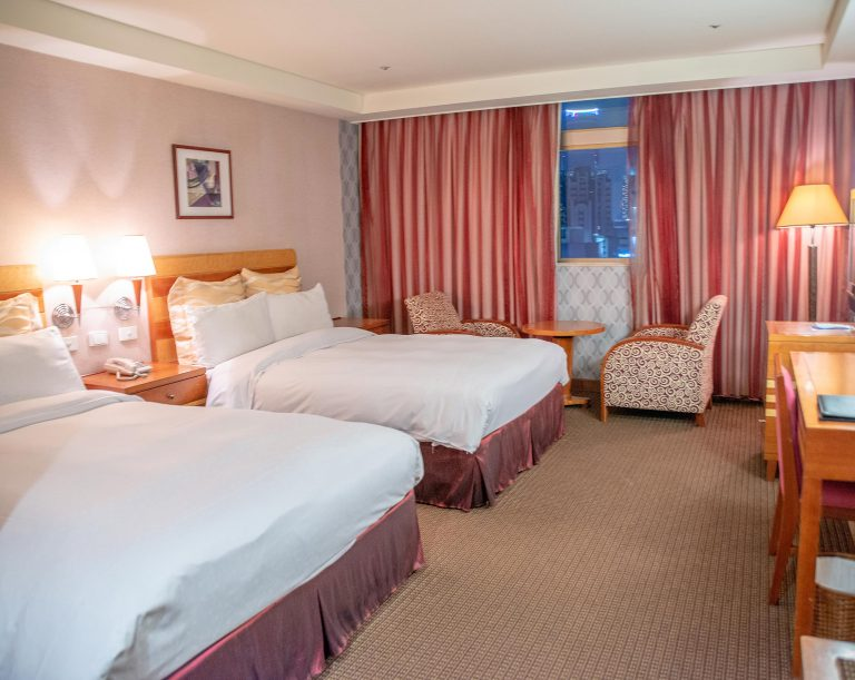豪華雙床房-三人